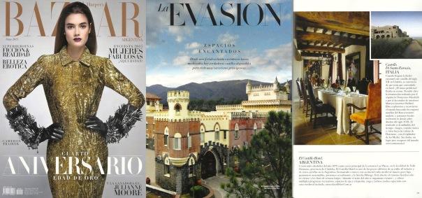 El Castillo Hotel en Harper's Bazaar