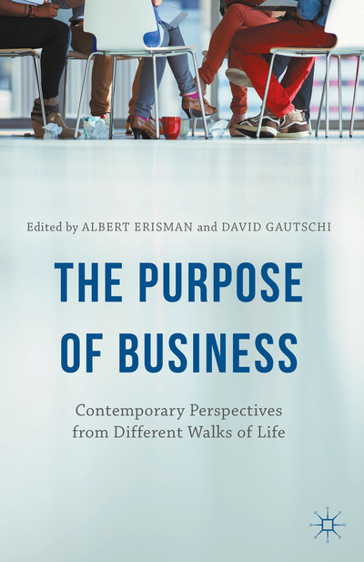the purpose of business book