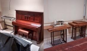 """Escuela de música y taller de costura del Centro Cultural Municipal """"Raúl R. Alfonsín"""" de Hernando"""